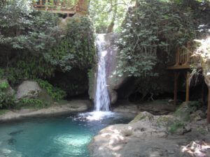 Turkse paradijs waterval