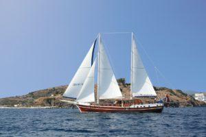 yoga reizen met godiva sailing cruises