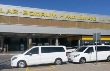 busje vanaf de luchthaven